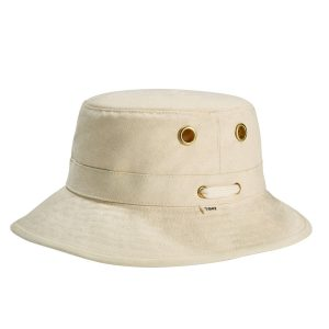 Tilley T1 Bucket Hat in Natural cotton duck canvas stocked at RLR Yachting in Malta, Tilley Hat Europe