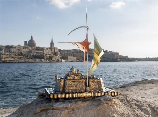 Rolex Middle Sea Race Trophy, sailing trophy, yacht race prize